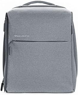 Original Xiaomi Backpack Urban Life Style Shoulders Bag Rucksack Daypack School Bag Duffel Bag Light gray