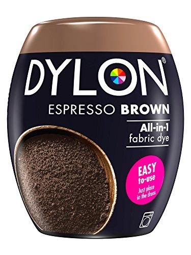 Dylon 350 g Maschinenfarbe Pod, espressobraun, 8.5 x 8.5 x 9.9 cm