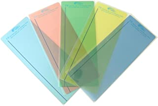 Reading Rulers Plain Window - pk of 5 - 5 Most Popular Colors