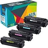 Do It Wiser Compatible Toner Cartridge Replacement for CLT-503L Samsung C3060FW C3010DW C3060 | CLT-K503L CLT-C503L CLT-M503L CLT-Y503L (4 Pack)