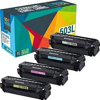 Do It Wiser Compatible Toner Cartridge Replacement for CLT-503L Samsung C3060FW C3010DW C3060 | CLT-K503L CLT-C503L CLT-M503L CLT-Y503L  4 Pack