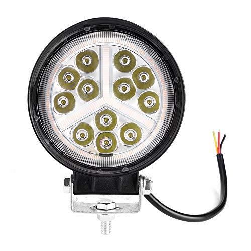 Duokon Motorrad Scheinwerferlampe, 4,5 Zoll LED wasserdichte Scheinwerfer Modifikation Runde Arbeitslampe für Offroad ATV UTV Truck Motorrad