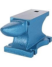 VEVOR Amboss 25 kg (55 LBS) smidesjärnsmide enkel horn av gjutjärn smörjverktyg robust