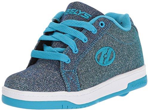 Heelys Fitnessschuhe, Mehrfarbig (Pewter/Blue 000), 38 EU