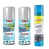 Ma-Fra Odorbact out Igienizzante per Condizionatore, 2 Confezioni 150ml più Neutrodor Fresh Air, Deodorante Auto 100ML