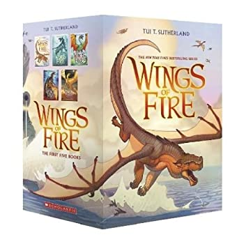 Wings of Fire Boxset, Books 1-5 0545855721 Book Cover