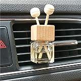 4 Packs Empty Essential Oil Diffuser Bottle Car Air Freshener Vent Clip Auto Perfume Diffuser Bottle Aromatherapy Fragrance Ornament Decor
