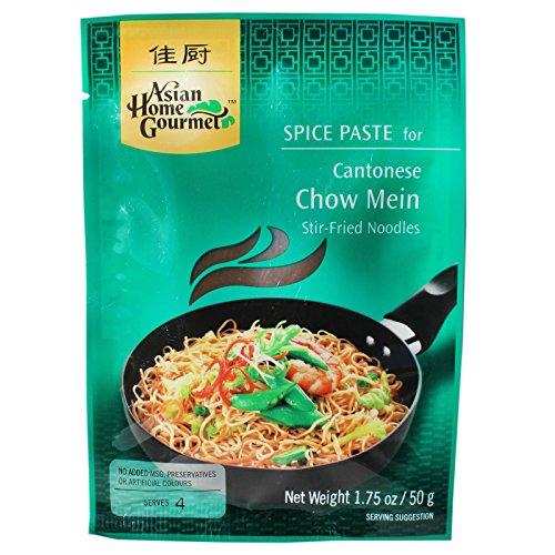 AHG Chow Mein Würzpaste für Gebratene Asia Nudeln 12x50g