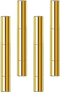 Beaupretty 4Pcs 5Ml Torção Maquiagem Canetas Prego Vazio Tubo de Óleo Com a Ponta Do Pincel Recipiente Lip Gloss Líquido O...