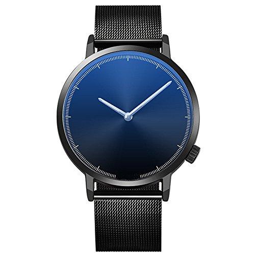ZODOF Relojes Hombre Reloj de Pulsera de Analógico de Cuarzo Relojs Elegante Impermeable Negocios Relojes para Hombre