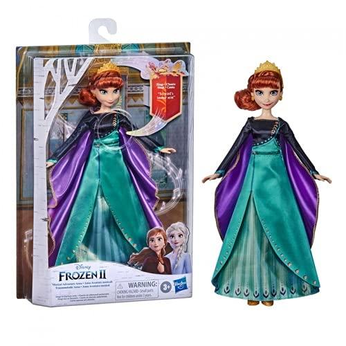Hasbro Disney Frozen Muñeco de la Reina del Hielo de la película Anna Canta So Wird's Immer Sein de Disney Frozen 2 para niños