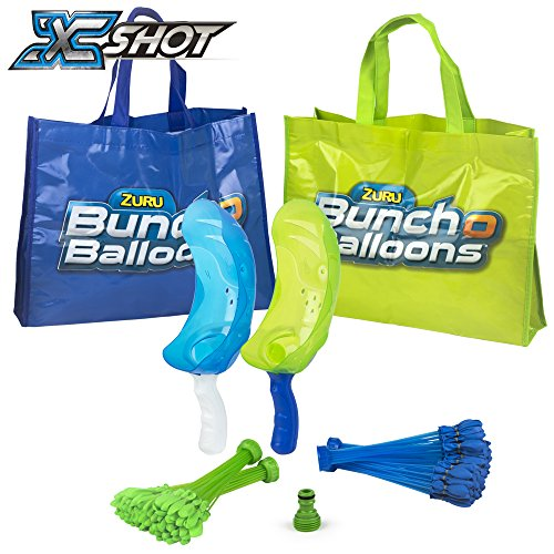 X-Shot – Pack 140 ballonnen, 2 cores, 1 schenktuit, Bunch of Balloons (COLORBABY 42719)