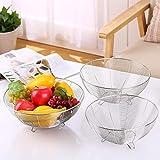 corbeille à fruits en métal  bol de fruits, corbeille à pain, corbeille à pain, 20 cm