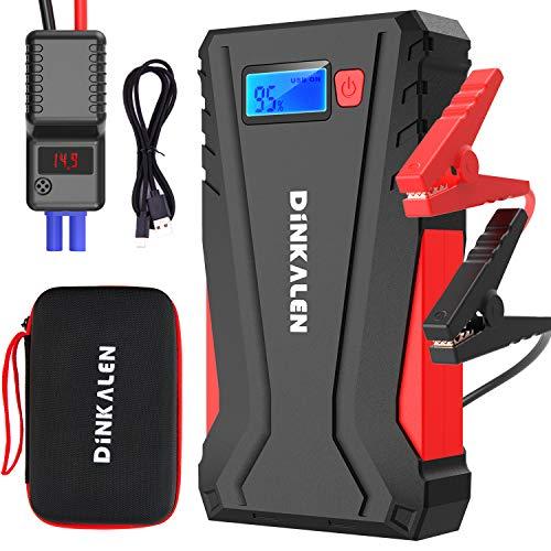 cargador baterias coche portatil Marca DINKALEN