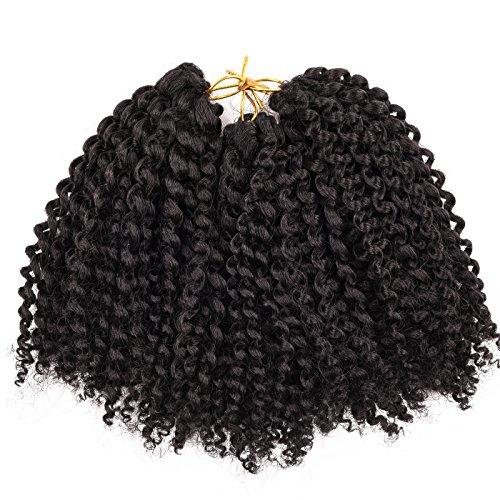Silike Marlybob Kinky Curl (3pacchi/confezione) 20,3cm estensione onda crochet trecce capelli ricci