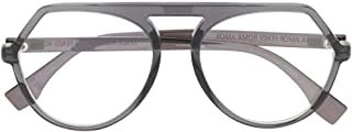 Luxury Fashion | Fendi Womens FF0385KB717 Grey Glasses | Season Permanent