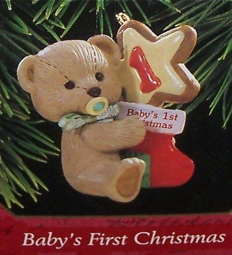 Hallmark 1997 Baby's First Christmas, Teddy Bear