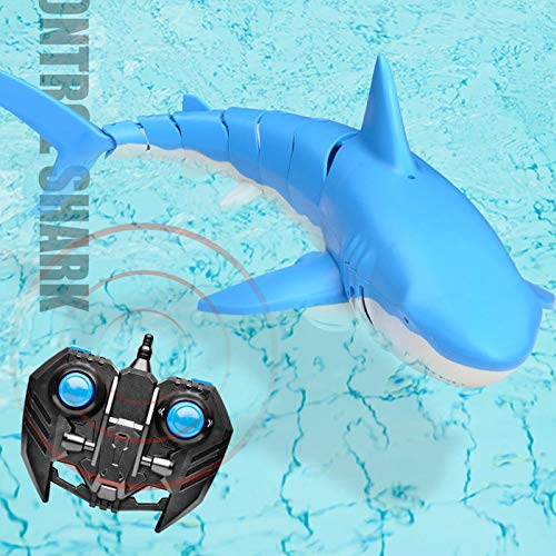 FMT 2.4G Remote Control RC Waterproof Shark Outdoor Swimming Pool Toys Lake Boat R/C