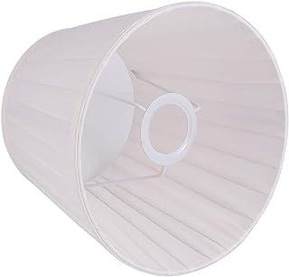 OSALADI Pantalla de Lámpara Vintage Cáscara de Huevo Pantalla de Lámpara Plisada Tela Tela Pantalla de Lámpara Cubierta de Lámpara Plegable Accesorios de Lámpara para Dormitorio Hogar