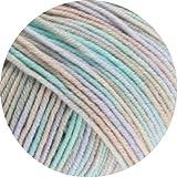 Lana Grossa Cool Wool Print 793 - Grége/Beige/Mint/Blasslila
