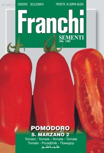 RWS Tomate Franchi graines de tomates San Marzano