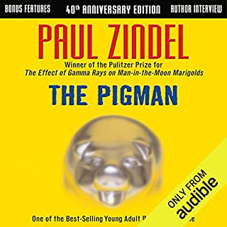 The Pigman                   Written by:                                                                                                                                 Paul Zindel                               Narrated by:                                                                                                                                 Eden Riegel,                                                                                        Charlie McWade                      Length: 4 hrs and 35 mins     Not rated yet     Overall 0.0