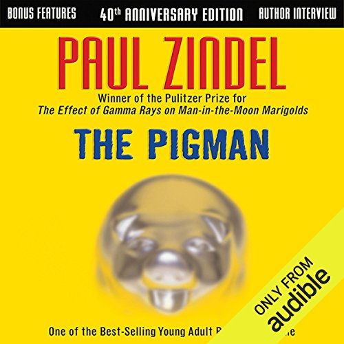 The Pigman                   By:                                                                                                                                 Paul Zindel                               Narrated by:                                                                                                                                 Eden Riegel,                                                                                        Charlie McWade                      Length: 4 hrs and 35 mins     132 ratings     Overall 4.2