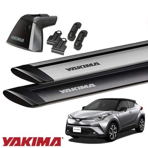 [YAKIMA 正規品] トヨタ C-HRに適合 ベースラックセット (ベースライン・ベースクリップ117,176・ジェット...