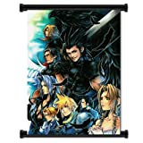 Wall Scrolls Crisis Core Final Fantasy 7 Game Fabric Poster (16';x22;) Inches