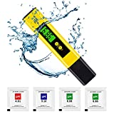ph Tester Digital - High Accuracy pH Meter for Drinking Water Aquarium and Hydroponics