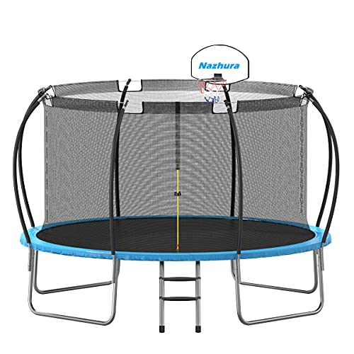 Trampoline 12 FT with Basketball Hoop ASTM Approved