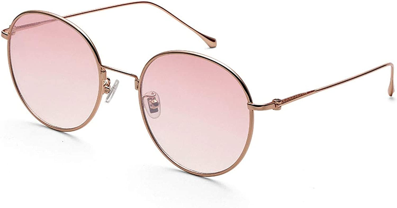 LFFTYJ Sunglasses, colorful Gradient color Fashion Glasses Korean Version of The Tide Elegant Sunglasses Popular Unisex Give him (her) a Good Summer Gift (color   C)