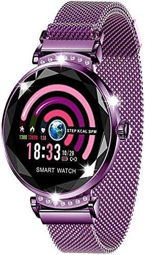 LQLD Smartwatch IP67 WaterproofFitness Tracker con presión Arterial Frecuencia cardíaca Oxígeno en la Sangre Sueño para Mujeres Hombres Niños