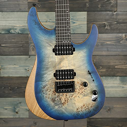Schecter Reaper-6 Electric Guitar, Ebony Fretboard, Satin Sky Burst