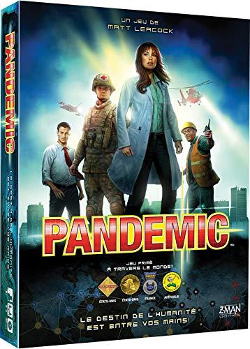 Asmodee, ZMPA01FR, Jeu Coopératif, Pandemic