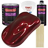 Restoration Shop - Fire Red Pearl Acrylic Urethane Auto Paint - Complete Gallon Paint Kit -...