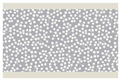Bordüre Borte Punkte mit Linien Küche Kinder selbstklebend Deko Wanddeko