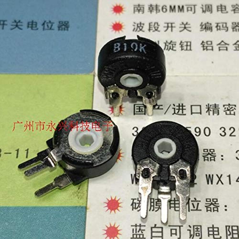 Import Original Trimming Potentiometer Switch PT10 B10K B103 greenical Hexagonal Hole 3P