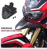 con Accesorios de instalaci/ón para 1000L 2016-2017 Acero Inoxidable KIMISS Protector de Guardia de la Cubierta del Faro Delantero de la Motocicleta