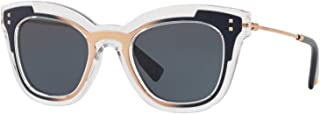 Valentino Cat Eye Sunglasses For Women - Grey, VA4030 50698749