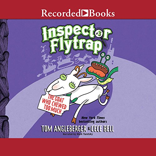 Inspector Flytrap in the Goat Who Chewed Too Much cover art