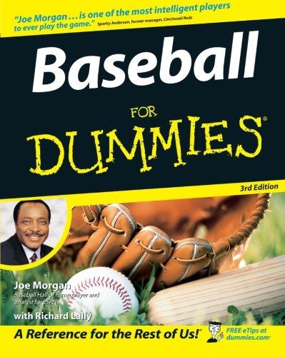 Baseball for Dummies 3rd Edition