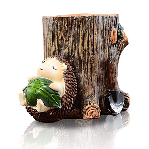 Cute Hedgehog Desk Pen Holder