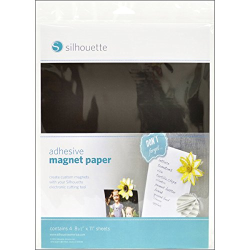 Silhouette Media-Magnet-ADH Adhesive Magnet Paper