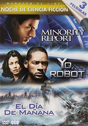 Minority Report/ Yo, Robot/ El Día De Mañana - Tri [DVD]