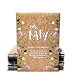 Oh Baby - Baby Shower Favors for Girls or Boys Party Favor for Guests - Bouquet Wildflower Mix Seed Packets - Andia Green Life Party Favors 20 Individual Packet
