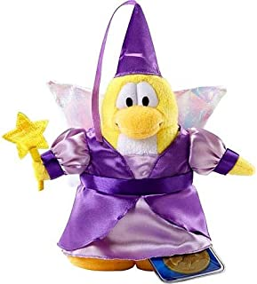 Disney Club Penguin 6.5 Inch Series 2 Plush Figure Fairy (Purple Dress) (Includes Coin with Code!)