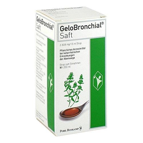 GeloBronchial Saft, 200 ml Lösung