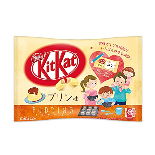 NEW LIMITED KitKat mini Pudding Flavor 12 pieces Japan Import