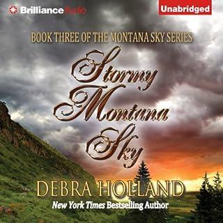 Stormy Montana Sky audiobook cover art